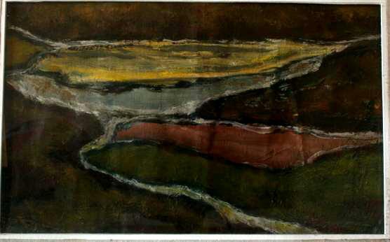 Moj kras 25x39 ulje na platnu 1960