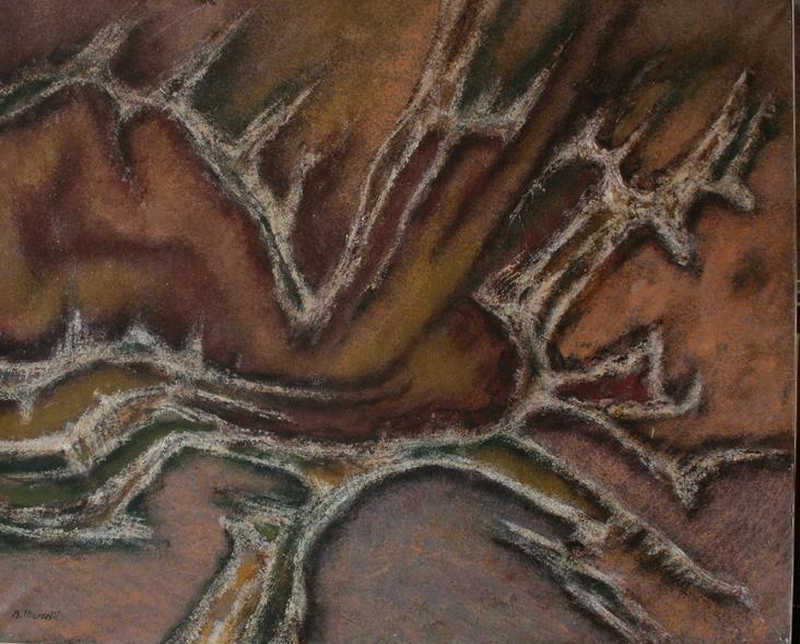 Moj kras Dinamika 80x100 ulje na platnu 1965