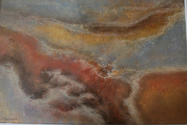 Tišina zemlje 40x59 ulje na platnu 1979
