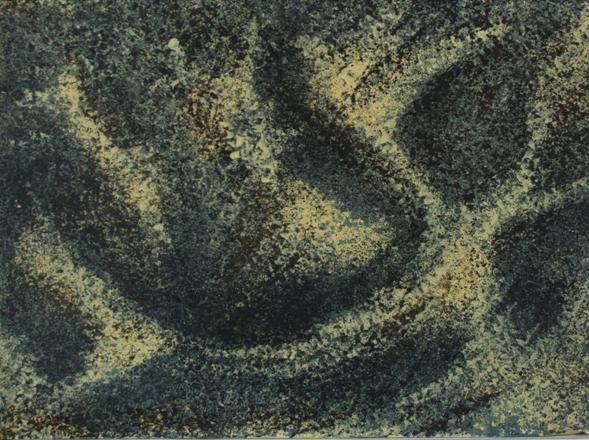 Mraz na krasu 25x35 ulje na platnu 1973