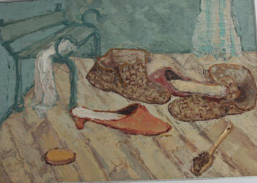 Papuča ulje 1955