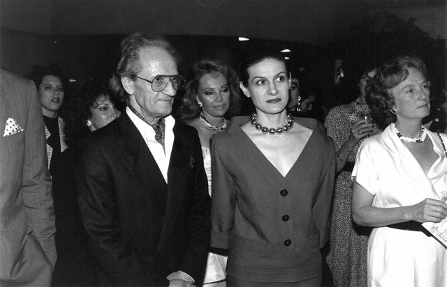 Boris Mardešić With Paloma Picasso - Guggenheim Museum New York