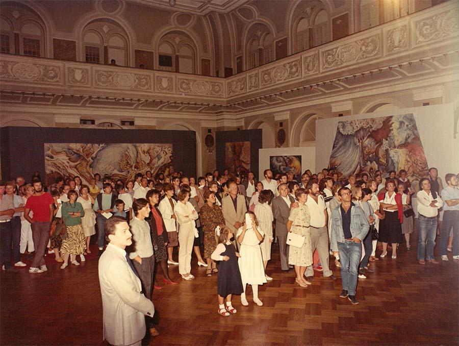 BORIS MARDEŠIĆ, ZAGREB, CROATIA, YUGOSLAVIA,1985.